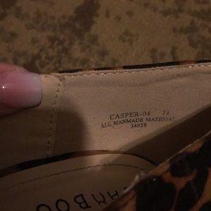 BAMBOO Shoes - Leopard heels